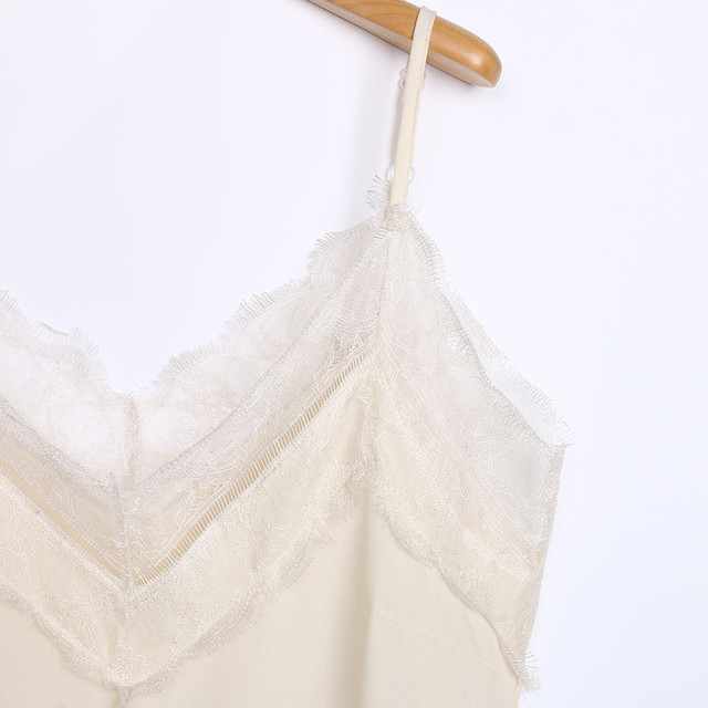 Casual Sexy Lace Sleeveless Vest Shirt Tank Blouse Tops 5