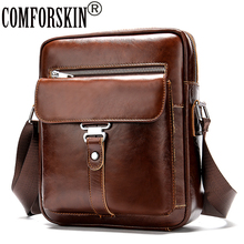 COMFORSKIN New Arrival Practical Male Cross-body Bag European And American Men Messenger High Quality Man Leather 2019