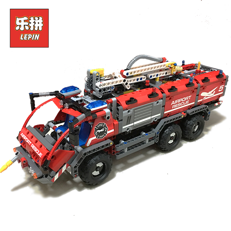 Lepin 20055 City Mechanical Fire Accident the Rescue Vehicle 42068 Building Blocks Bricks Children Birthday Toys Lepin Technic the rescue
