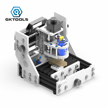 GKTOOLS CNC 1309 DIY GRBL Desktop Hobby Mini Engraving Wood Router Carving PCB Milling Mill Cutter Engraver Machine 2500mw 3 axis diy desktop mini cnc laser engraver engraving machine dc 12v milling carving cutter wood router 0 04mm t8 screws