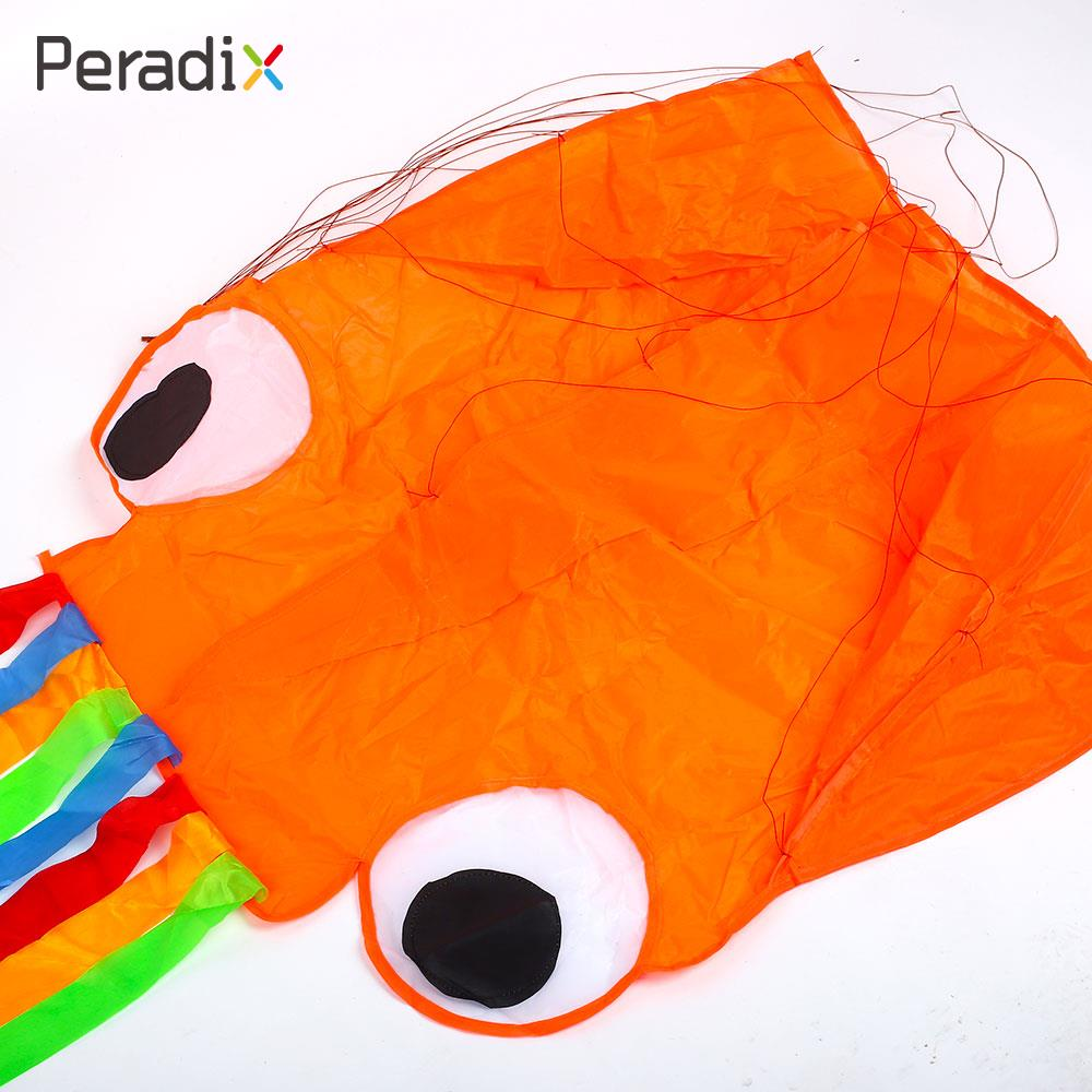 2018 Long Tail Kite Cool Kids Octopus Kite Beginning Ability Octopus Children Toy Octopus Kite Good Weather Drop Shipping