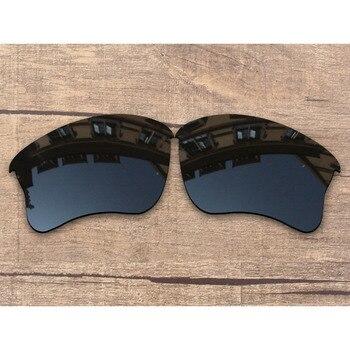 ba6ef3e663 Vonxyz Stealth de policarbonato negro lentes de recambio para Oakley Flak  Jacket XLJ marco