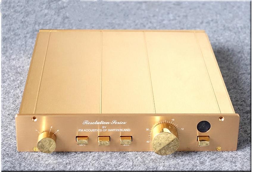 M-008 Study/Copy FM ACOUSTICS FM155 pre amplifier preamp pre-amp pre-amplifier about 99% Direct cloning amp's sound reference study copy marantz 7 hybird preamplifier pre amp preamp pre amplifier pre amplifier rca output good sound