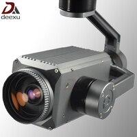 Беспилотных летательных аппаратов БПЛА Drone PTZ Камера 30x зум 1080 P Full HD Starlight Камера с 3 оси gimbal стабилизатор