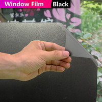 Окно конфиденциальности стеклянная пленка скраб Туалет Ванная комната офисное окно непрозрачные стикеры черная декоративная оконная плен