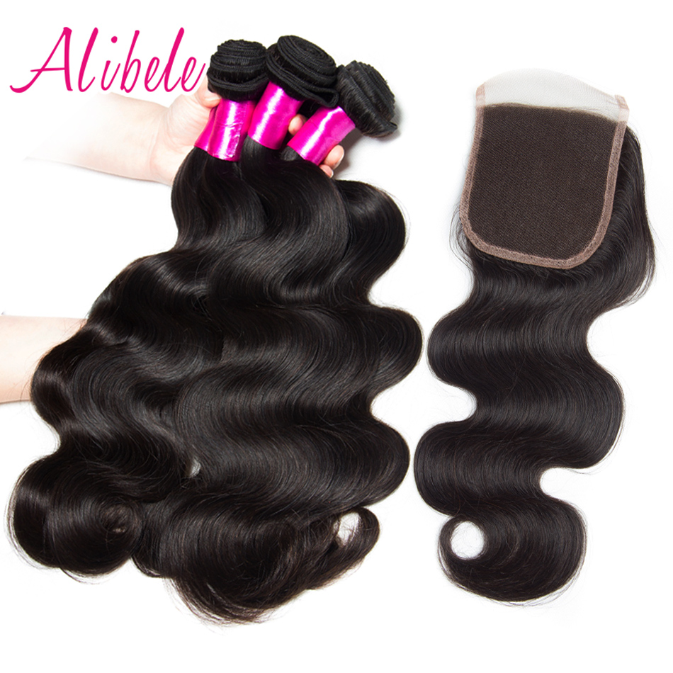 aliexpresscom buy alibele brazilian body wave 4 bundles