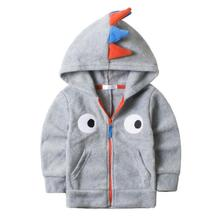 Fashion Baby Boys Coat Autumn 2016 New Hooded Coat Toddler Boys Clothing Kids Boys Clothes Winter Jacket Outwear KW-1640