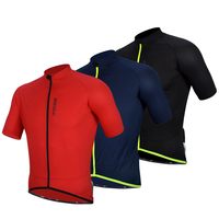 Darevie dyeing cation fabric cycling jersey man training bike jersey tops