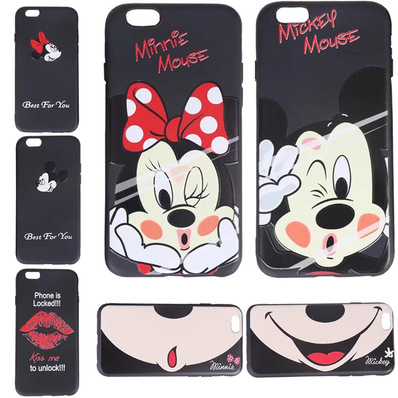 bow Mickey mouse phone case silicone