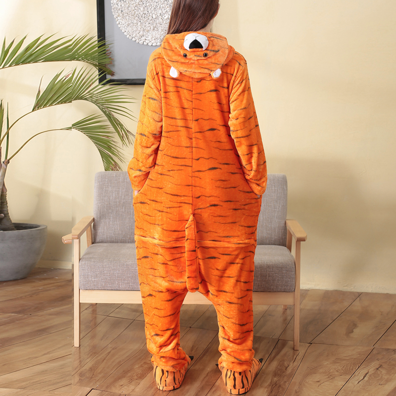 cosplay custome tiger adult onesie