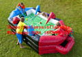 2016 new Factory direct Inflatable games, four in one game KYG-46