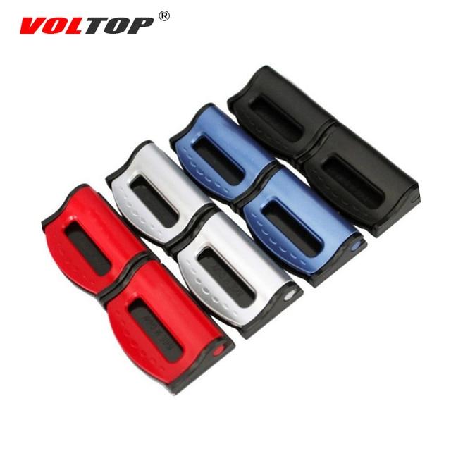 VOLTOP Car Seat Belt Clip Safety Buckle Elasticity Regulator Adjusting Clamp Fixing Non Slip Retainer