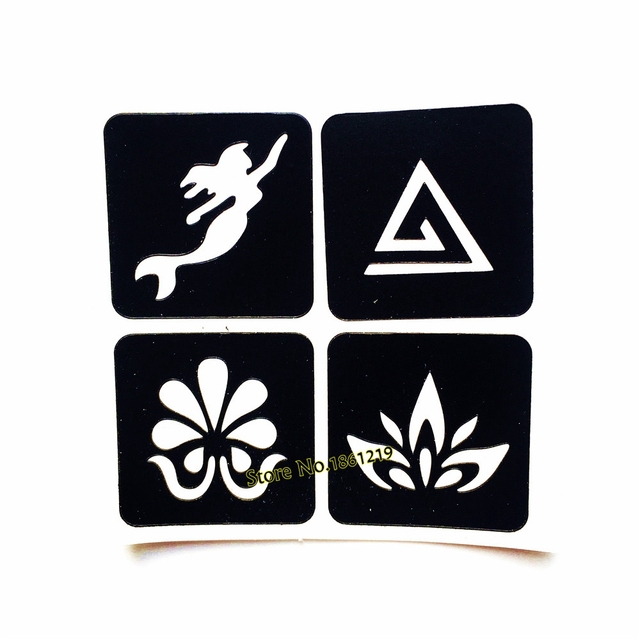 1pc 4 design mermaid henna tattoo stencils lotus flower waterproof 1pc 4 design mermaid henna tattoo stencils lotus flower waterproof fake tattoo template for airbrush painting mightylinksfo