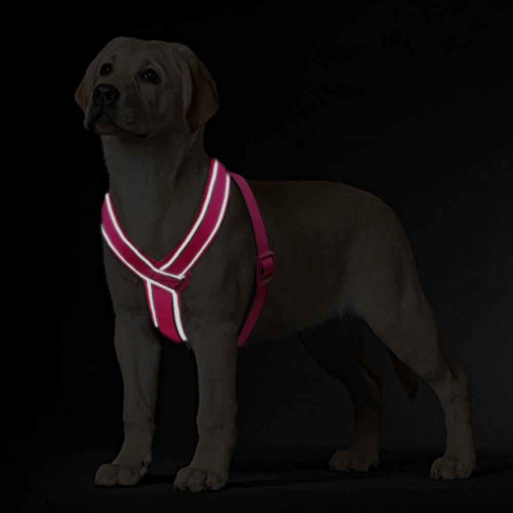 Najlon reflektirajuća mekana mrežica podstavljena pasa za prsluk - Kućni ljubimci - Foto 4