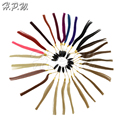 H.P.W. 100% Human Hair Color Chart Ring Selected 27colors For Human Hair Extension Reference Colour Ring
