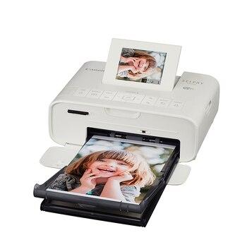 Impressora de fotos portátil wifi cp1200, mini impressora fotográfica móvel cor doméstica para canon cor sem fio máquina de impressão da foto CP-1200
