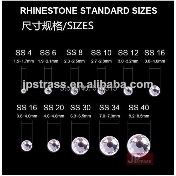 Стразы высокого качества, 14 граней, превосходный Блестящий уровень ss20, черный бриллиант, цвет 1440 шт в каждой упаковке;