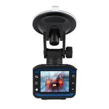 GPS Radar Detector Car DVR 3 In 1 Full HD 720P Radar Video Recording Machine Vehicle Fixed Flow Speed Driving Recorder
