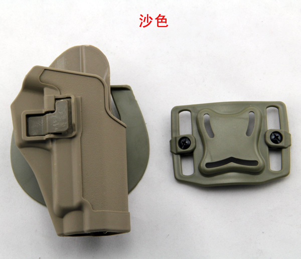 P226 simulation gun holster sleeve Blackhawk CQC waist waist outdoor survival game live CS pull back cover fast