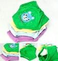 Caliente 4X bebé muchachas del niño de los muchachos 4 capas impermeables pantalones Potty Training reutilizable