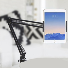 Telefon Tablet tutucu uzun kol masaüstü klip braketi için iPad iPhone Huawei 6 ila 11 inç telefonu Tablet standları desteği