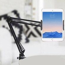 Uchwyt na Tablet z długim ramieniem uchwyt na biurko do ipada iPhone do Huawei 6 do 11 cali stojak na Tablet do telefonu