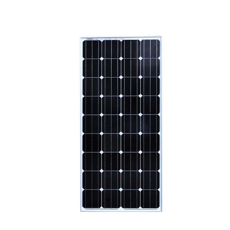 Pannello solare 12 v 150 W Monocristallino 12 v Chargeur Solaire Led Camping Car Camper RV Yacht Luce Domestica Solare sistema Off Grid