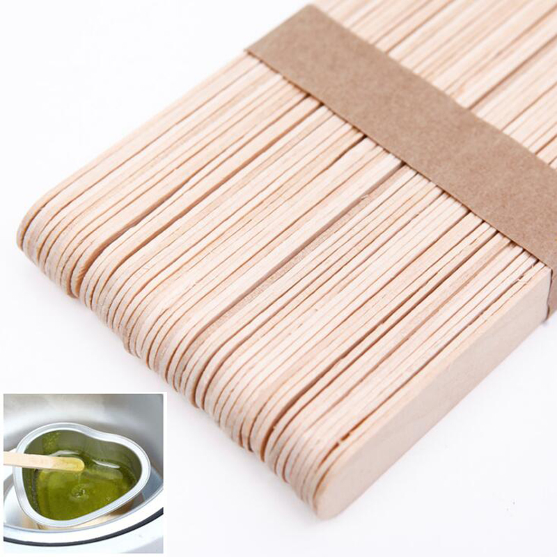 Kit Spatula Waxing-Wax Bamboo-Sticks Tongue-Depressor Wooden Disposable Skin-Beauty-Tool