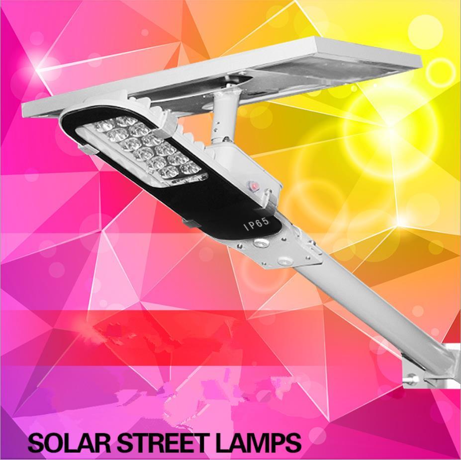 Solar Lights Outdoor Solar Powered Panel LED Street Lights Road Lamp Lampada Solar Garden Emergency Lights цена
