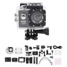 Sport Camera 1080P Full HD Waterproof Underwater Camera with 140 Degree Wide-angle Lens 12MP Waterproof Underwater Camera