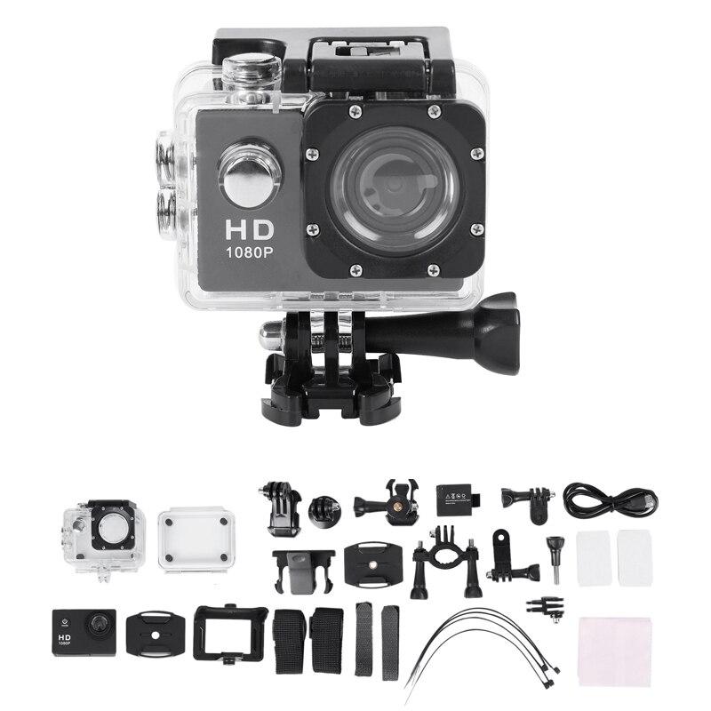 Sport Camera 1080P Full HD Waterproof Underwater Camera with