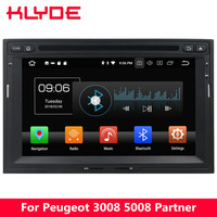 KLYDE 4G Android 8 Octa Core 4GB RAM 32GB ROM Car DVD Player Stereo For Peugeot 3008 5008 Partner 2010 2011 2012 2013 2014 2016