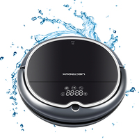 FBA LIECTROUX Robot Vacuum Cleaner Q8000 WiFi Wet Dry Mop Map Navigation Smart Memory UV