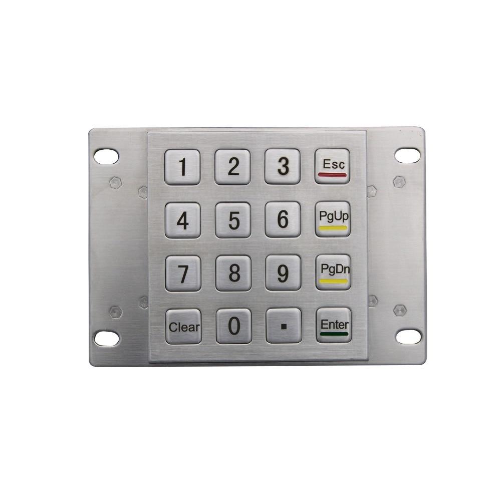 Pin cu tastatură terminală impermeabilă Tastaturi ATM Tastaturi - Perifericele computerului