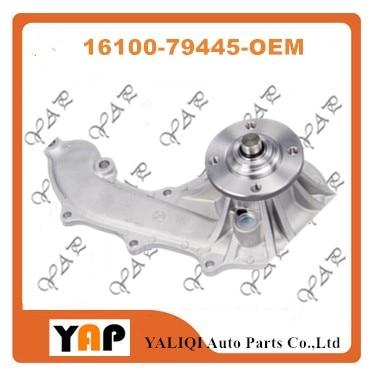 Automotive engine ENGINE COOLANT PUMP FOR FITTOYOTA Tacoma T100 4Runner RZB50 3RZFE 2PRZFE 2.4L 2.7L L4 16100-79445 1995-2014Automotive engine ENGINE COOLANT PUMP FOR FITTOYOTA Tacoma T100 4Runner RZB50 3RZFE 2PRZFE 2.4L 2.7L L4 16100-79445 1995-2014