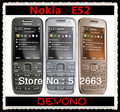 Nokia E52 Original Unlocked GSM 3G Mobile Phone 3.2MP GPS WIFI E52 Cell Phone Dropshipping