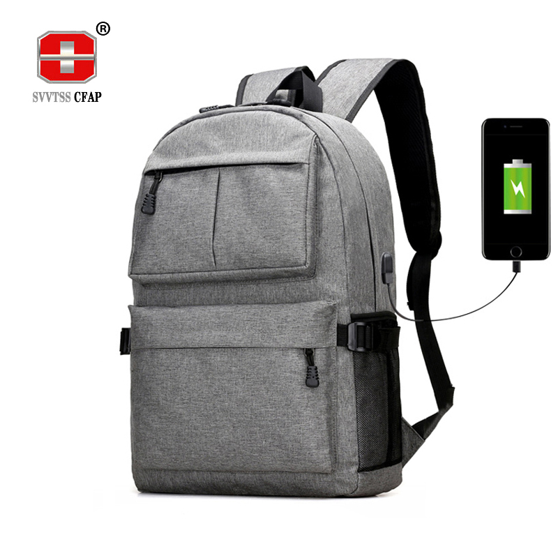 Teen boys girls schoolbag backpack canvas Large black Men School Bags Usb Charge 13.3 Laptop back pack male Women Book Bag 2018 delune new european children school bag for girls boys backpack cartoon mochila infantil large capacity orthopedic schoolbag