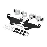 39MM Fork Bracket Gauntlet Fairing Trigger Lock Mount Kit For Harley Sportster XL XL883 XL1200 Dyna