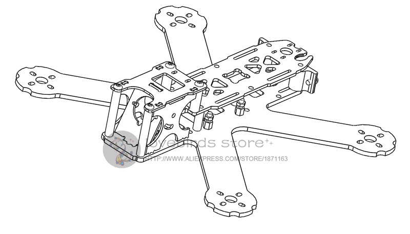 Racing Drone Wiring Diagram
