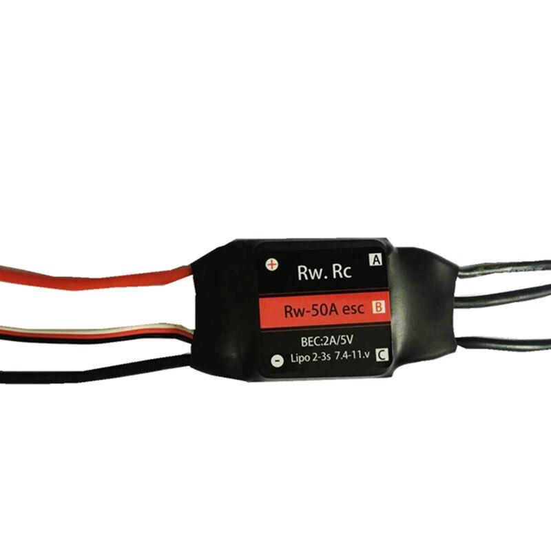 RW. RC Brushless ESC 30A/50A/70a/125a/200a avec inverseur Pour voiture