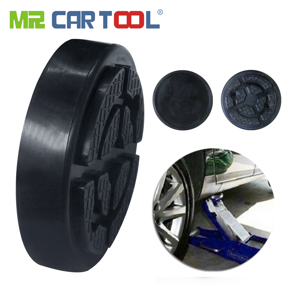 Mr Cartool 2 Pcs Jack Pad Lift Rubber Pad Frame Rail Adapter For Pinch Weld Side Lifter Auto Lift Rubbers Pads Tool For Jacks