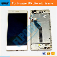 For Huawei P9 Lite G9 LCD Display Touch Screen Original LCD Digitizer Glass With Frame Panel