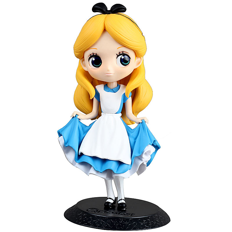 Disney-11-16cm-Kawaii-Q-Version-Alice-In-Wonderland-Mermaid-Ariel-Snow-White-Tangled-Rapunzel-PVC (2)_