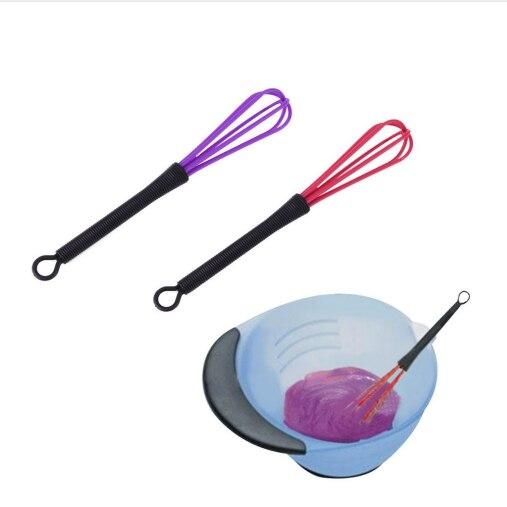 TOPHOT 1 PC Pro Cabeleireiro Tintura Creme Cuidados Com Os Cabelos Styling Tools Whisk Agitador Misturador De Cabelo Barbeiro de Plástico Liquidificador