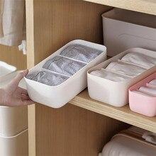Bra Socks Underwear Laundry Organizer Box Closet Storage Drawer Divider for of Linen Multifunction Can Overlap