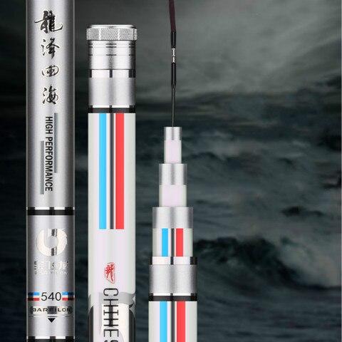 carpa de carbono vara de pesca 3 9 m 5 4 m taiwan vara de