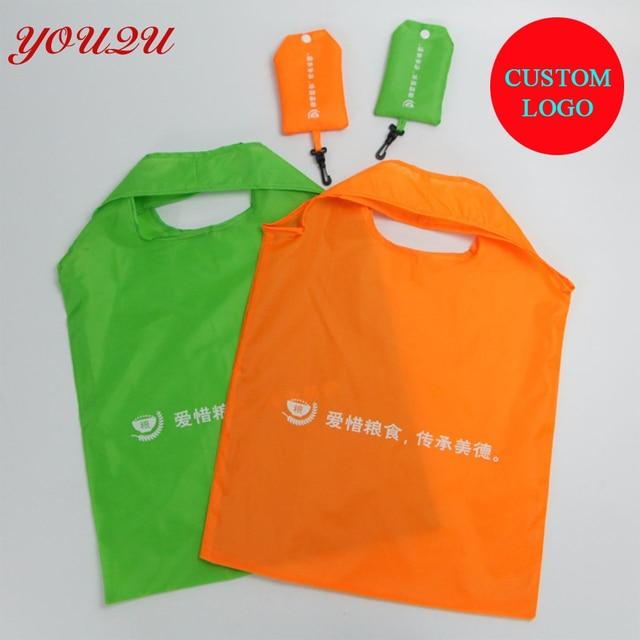 Custom nylon shopping bag 67c9a83d1