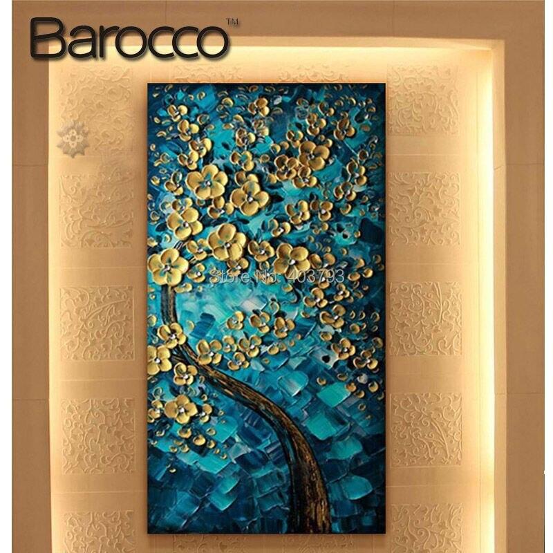 100% Ручная роспись Современная абстрактная картина маслом на холсте Miss Millionaire краска для гостиной