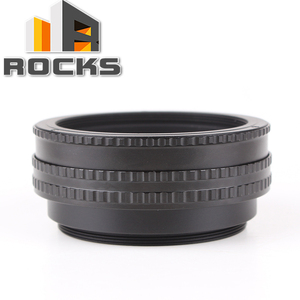 Image 1 - Pixco M65 to M65 Mount L.ens Adjustable Focusing Helicoid 17 31mm Macro Tube Adapter   17mm to 31mm