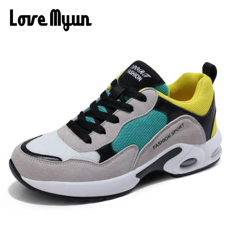 2018 Spring Women Sneakers Shoes Fashion Flat Outdoor Shoes Ladies tenis feminino Breathable Air Mesh Women Casual Shoes LL-74
